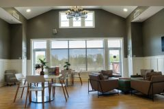 Upstairs lounge area for residents of our residential facility.